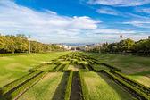 Eduardo VII park   in Lisbon — Stock Photo