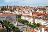 Aerial view of Lisbon — Stock Photo