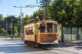Tramway historique à Porto — Photo