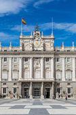 Palacio Real de madrid, España — Foto de Stock