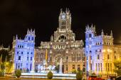 Fontaine de Cibeles à madrid — Photo