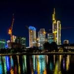 Frankfurt am Main at night — Stock Photo #68643305