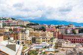 Genoa city panorama in Italy — ストック写真
