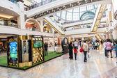Shopping mall at Al Barsha district, Dubai — Stock Photo