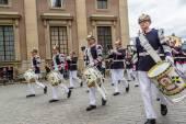 Royal Swedish Army Band — Stock Photo