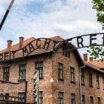 Entrance gate to Auschwitz — Stock Photo #69445655