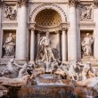 Trevi Fountain - famous landmark in Rome — Stock Photo #69446015