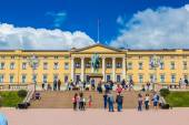 Royal Palace  in Oslo, Norway — Stock Photo