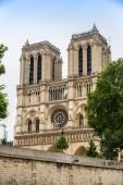 Notre dame-katedralen i paris — Stockfoto