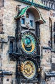 Astronomical Clock. Prague — Stock Photo