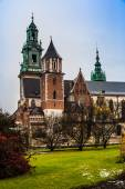 Poland, Wawel Cathedral  in Krakow — Stock Photo