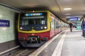 Potsdamer Platz subway station in Berlin — Stock Photo