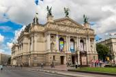 Opera and Ballet Theatre in Lviv — Stock Photo