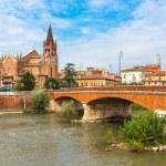 Cityscape of Verona, Italy — Stock Photo #69665065