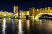 Castle Vecchio in Verona, Italy — Stock Photo