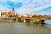 Cityscape of Verona, Italy — Stock Photo