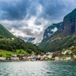 Country summer landscape, Norway — Stock Photo #70078629