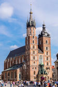 在克拉科夫圣玛丽教堂 — 图库照片