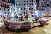 Moor Fountain in Rome — Stock Photo