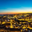 Lisbon panorama at nigth — Stock Photo #71565565
