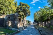 Pompeii city old ruins — Stock Photo