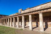 Oude ruïnes van Pompeii stad — Stockfoto