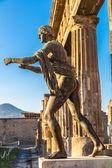 Pompeii city old ruins — Stock Photo