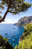 Capri island in  Italy — Stock Photo
