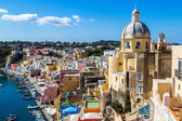 Procida island in Italy — Stock Photo