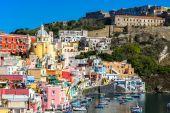 Procida island in Italy — Stock Photo