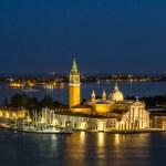 San Giorgio island in Venice, Italy — Stock Photo #71990345