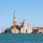 San Giorgio island in Venice, Italy — Stock Photo #71990371