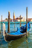 Gondola in Venice at summer — Fotografia Stock