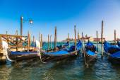 Gondolas  in Venice, Italy — Stock Photo