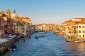 Canale grande w Wenecji, Włochy — Zdjęcie stockowe