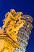 Leaning  tower in Pisa — Stock Photo