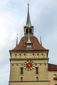 Clock tower in Bern — Stock Photo