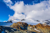Alps mountain landscape in Swiss — Stock Photo
