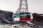 Cable car to Matterhorn in Zermatt — Stock Photo