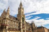 Marienplatz town hall in Munich — Stock Photo
