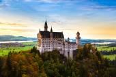 Neuschwanstein castle in Gernamy — Stock Photo