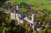 Neuschwanstein castle in Gernamy — Stock Photo