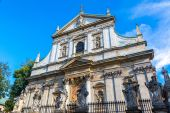 St. Peter and St. Pauls Church in Krakow — Stock Photo