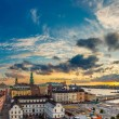 Panorama of  Stockholm at sunset — Stock Photo #74018549