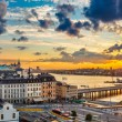 Panorama of  Stockholm at sunset — 图库照片 #74018557