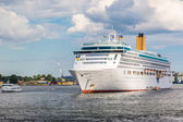 Cruise Ship in Stockholm — Stock Photo