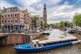 Westerkerk オランダ プロテスタント教会 — ストック写真