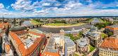 Dresden och floden Elbe — Stockfoto