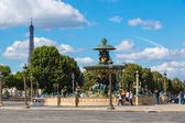 Luxor Obelisk at the center of the Place de la Concorde — Stock Photo