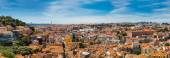 Panoramic aerial view of Lisbon — Stock Photo